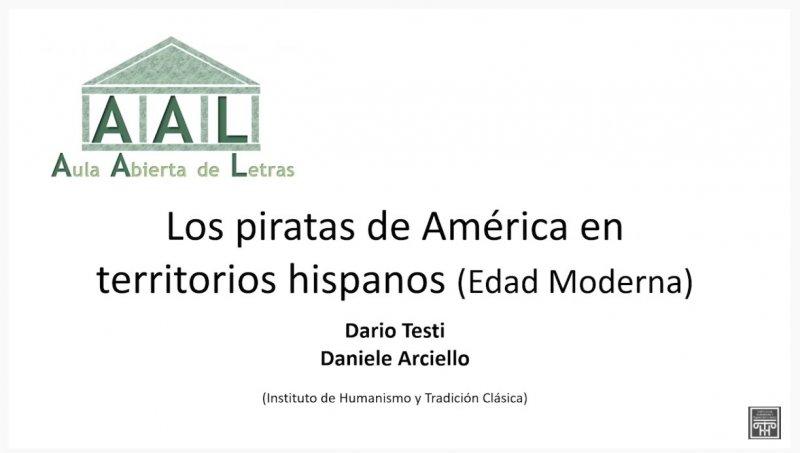 AULA ABIERTA DE LETRAS - Los piratas de América en territorios hispanos